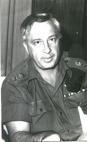 אריק שרון מפקד בצהל