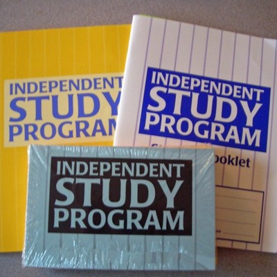 My Independent Study timeline