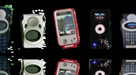 Les inventions liées à l'évolution des parcours touristiques audio-guidés. timeline