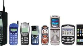 Evolución del Teléfono Móvil timeline