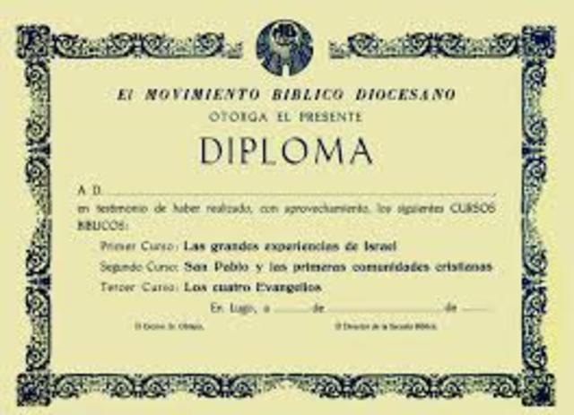diplomas de graduacion