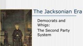 Jacksonian Era  timeline