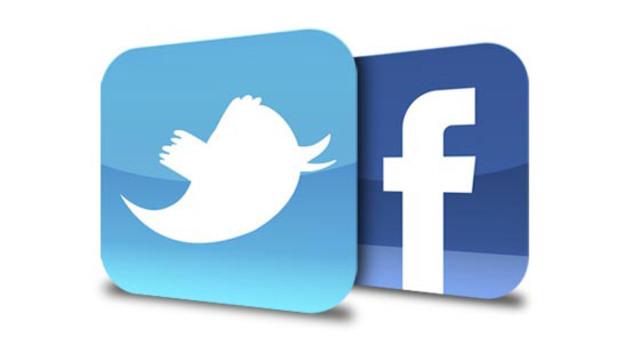 """Twitter Facebook """"Social Media"""""""