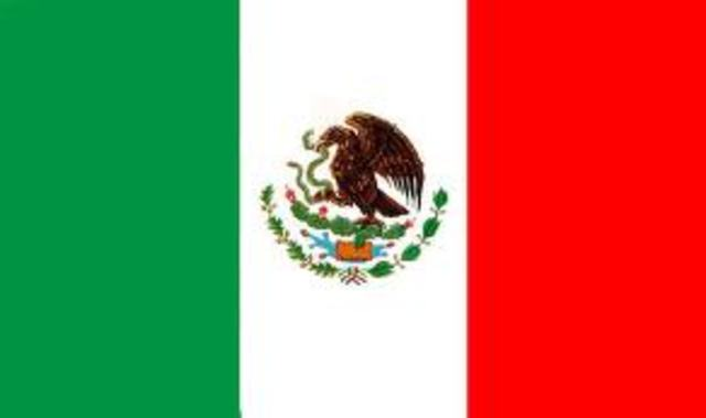 Mexico declares its independence