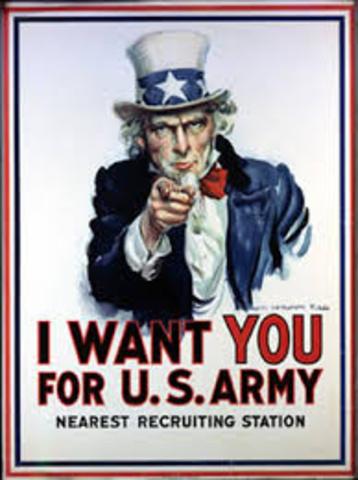 U.S. joins World War I