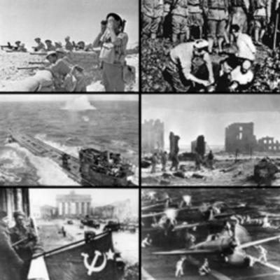 Periode 1870-1945 (Duitsland als enigszins middelpunt) timeline