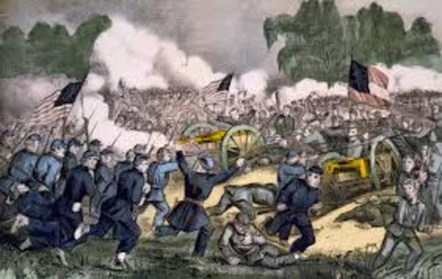 The battle of Gettysburg Day 1