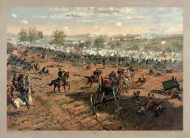 The Battle of Gettysburg Day 2