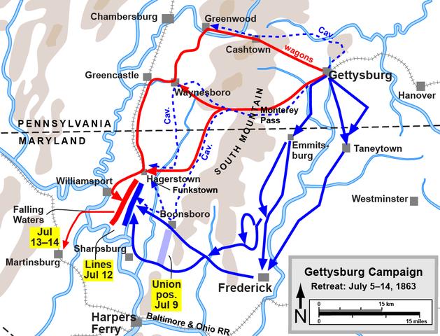 Battle of Gettysburg day 4