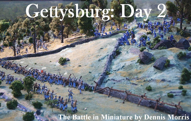 The Battle of Gettysburg, day 2