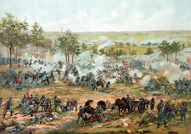 Day 1 of Gettysburg war