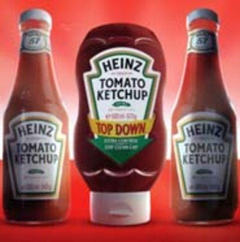 Heinz Goes Upside Down