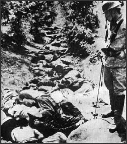 Rape of Nanjing in China