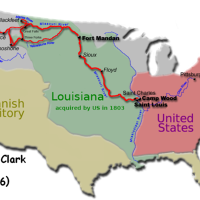 Lewis and Clark Anchor CK timeline
