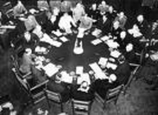 Yalta Conference held