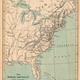 Map of european colonies in north america