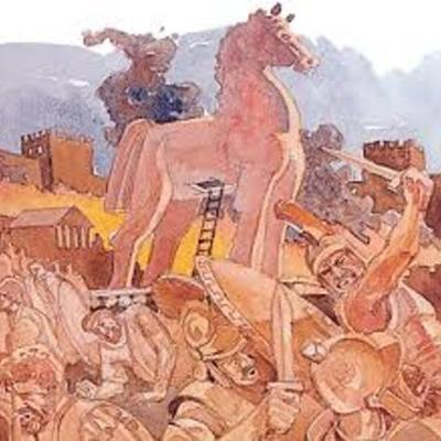 Trojan War by Christina Hernandez timeline