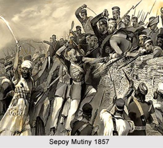 Sepoy Mutiny in India