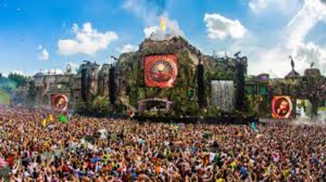 Big Music Festivals