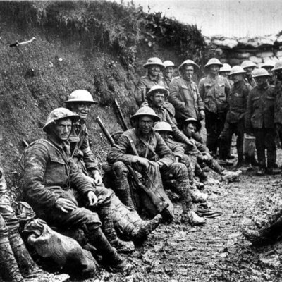 La Primera Guerra Mundial (1914 - 1918) timeline