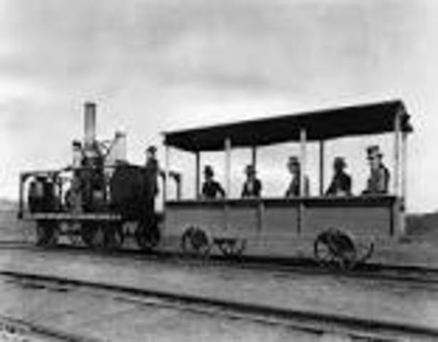 1st successful steam engineis built