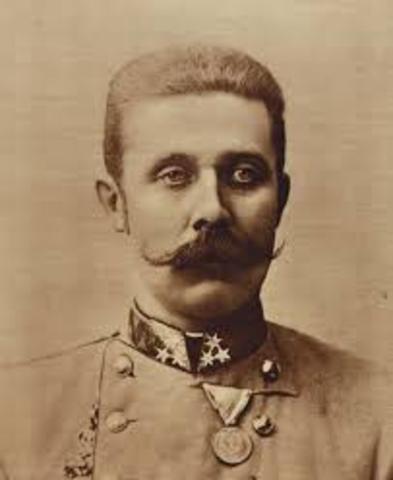 Franz Ferdinand is killed
