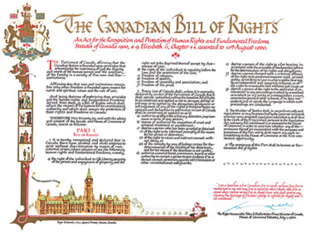 Canadian Bill of Rights
