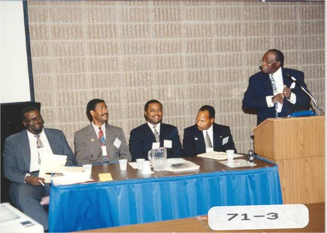 Panel on African-Americans in Chiropractic
