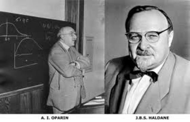 oparin haldane hypothesis In 1953 stanley miller and harold urey decided to test the oparin-haldane hypothesis by zapping methane and ammonia gas with electric charges 9 they obtain.