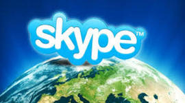 """Skype - Communicating """"face-to-face"""" all over the World timeline"""