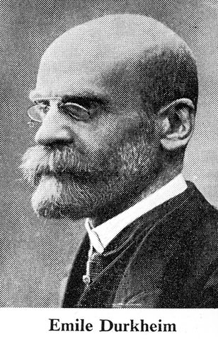 Émile Durkheim (Épinal, Francia, 15 de abril 1858 – París, 15 de noviembre 1917