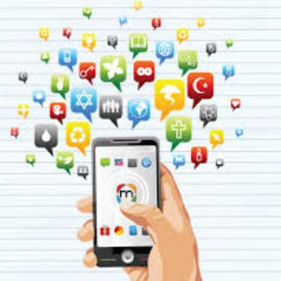 A evolução das redes socias timeline