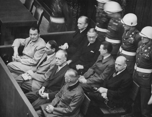 Nuremberg trials are held