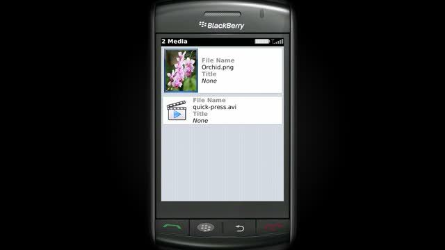 Blackberry OS 1.0