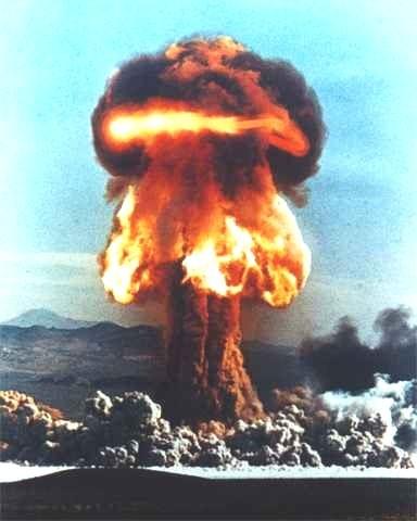 Dropping of atomic bomb on Nagasaki