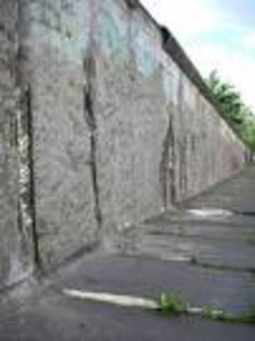 Berlin Wall made