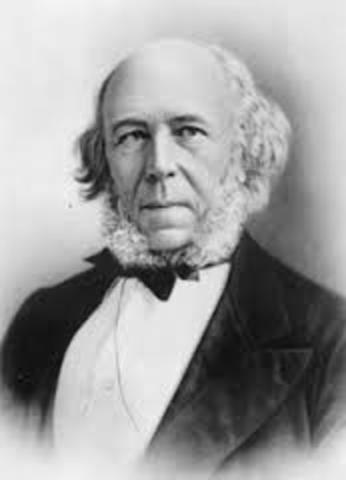 herbert spencer Herbert spencer the most extreme reflection of nineteenth-century individualism is to be found in the encyclopedic system of herbert spencer (1820-1903.
