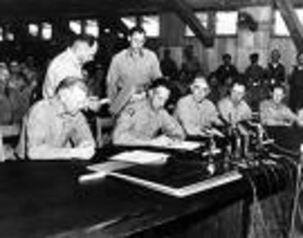 Armistice Signed Ending Korean War