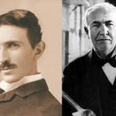Biografies científiques (Edison - Tesla) timeline
