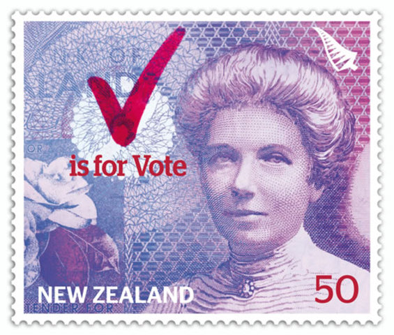 New Zealand: Women Given the Right to Vote