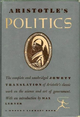 Political Writings of Aristotle