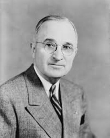 Truman commits US Naval and Air support to South Korea.