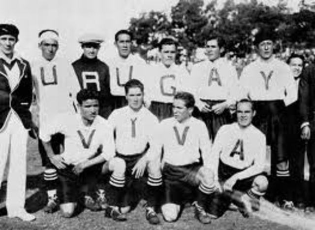 First World Cup in Uruguay