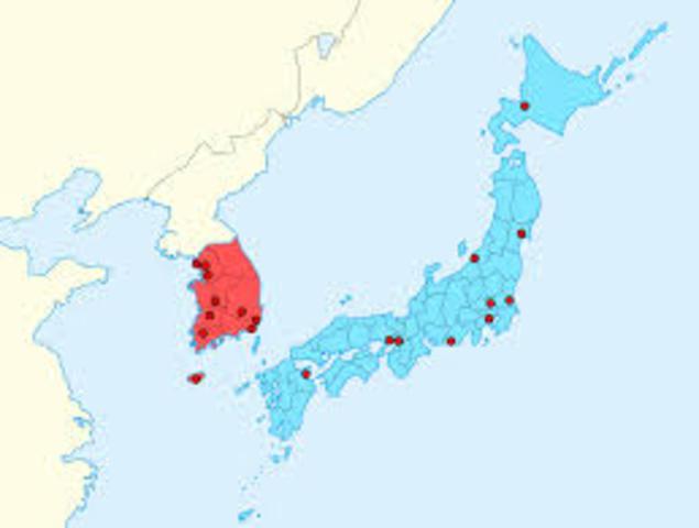 Korea and Japan became co host
