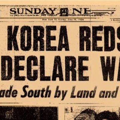 The Korean War (1945-1960) timeline