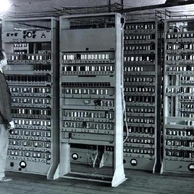 Evolucion de la Computacion timeline