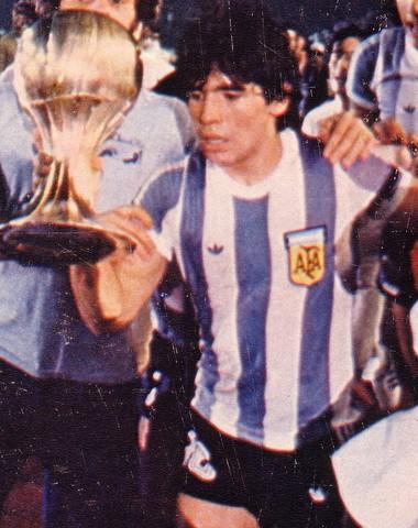 Campeón con la selección juvenil de Argentina