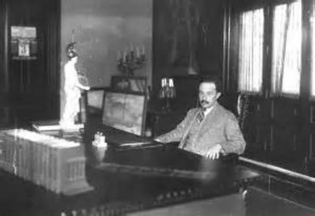 José Vasconcelos y la creación de la SEP 1921-1923