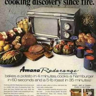 History of the Microwave Oven timeline