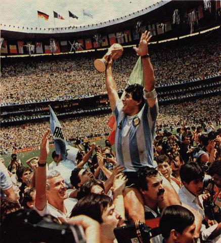 Campeón del Mundo en México 86